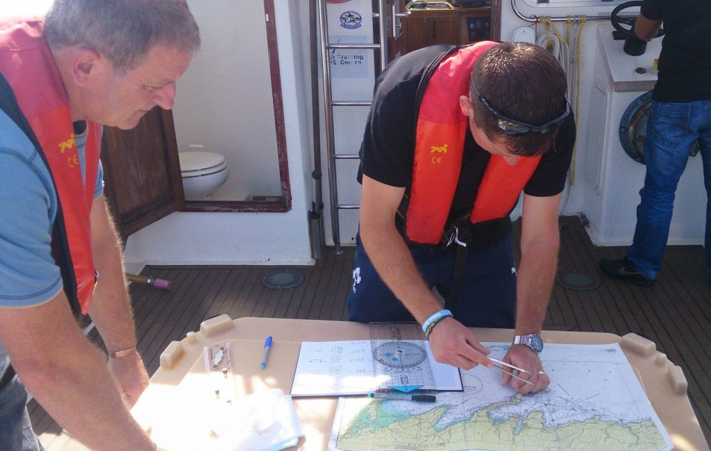 Seamanship center - chart plotting