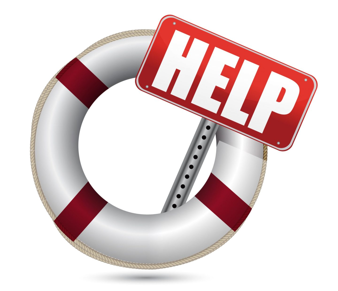 Help sign in STCW life ring